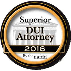 Chris Spedding, has been named a Superior DUI DWI Defense Attorney - Lexington Kentucky
